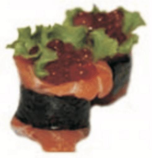 Ikura Tobiko - Nigiri Sushi