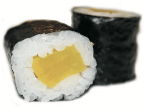 Maki Radis Japonais Hosomaki