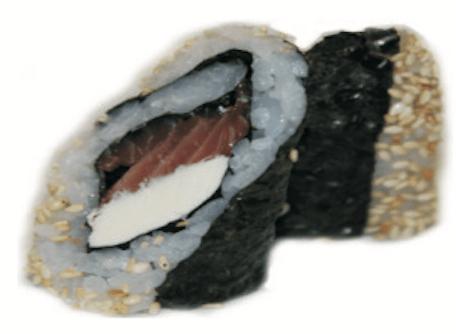 Maki Saumon Fromage Sésame Hosomaki