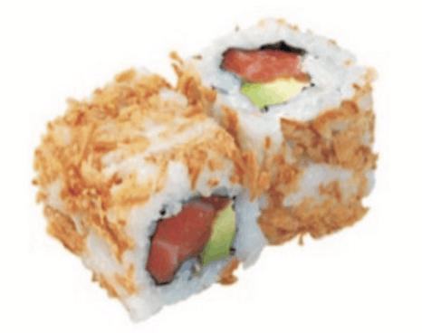 Crispy Rolls Saumon Avocat Uramaki