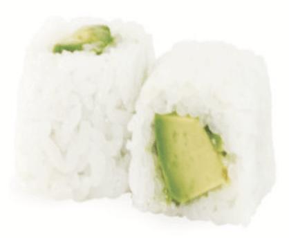 White Maki Avocat Fromage Uramaki