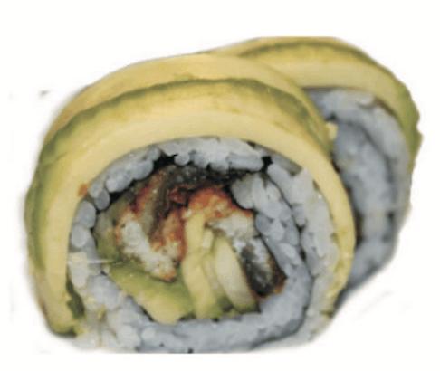 Futomaki Anguille Avocat