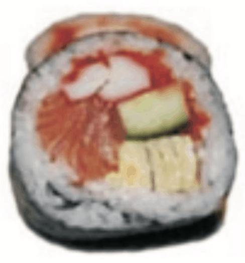 Futomaki Saumon Crabe