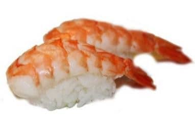Ebi-crevette Nigiri Sushi