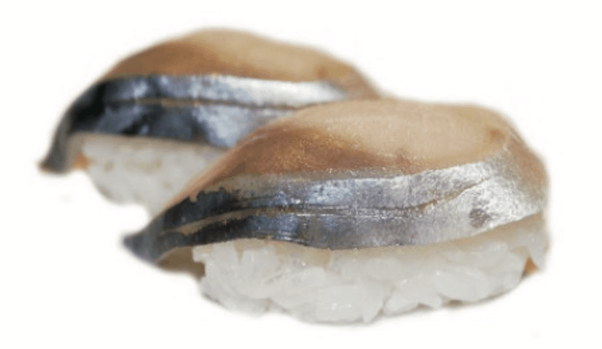 Saba-Maquereau Nigiri Sushi