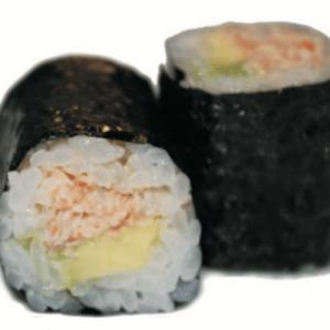 Maki Crabe Avocat Hosomaki Sushi