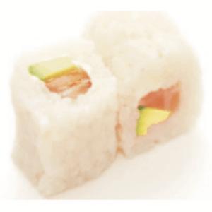 White Maki Saumon Avocat Uramaki