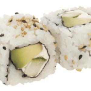 Cali Végé Avocat Concombre Fromage Uramaki