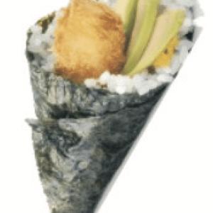 Crevettes Panées Avocat Temaki