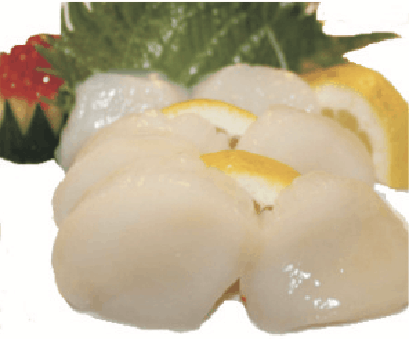 Sashimi Coquille St-Jacques